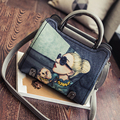 Bailar totes shoulder messenger bags women handbags and purese cartoon printing famous designer brand high quality leather
