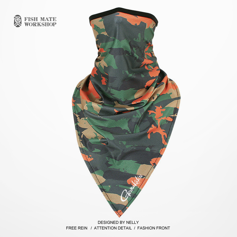 Image 4 - 2019 Gamakatsu Fishing scarf ice silk magic headscarf summer sunscreen collar men and women outdoor riding scarf-in Fishing Caps from Sports & Entertainment