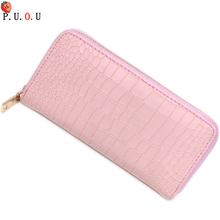 2019 Womens Wallets Brand Purses Female Long European And American Style Genuine Leather Wallet Ladies Wallet High Capacity 58
