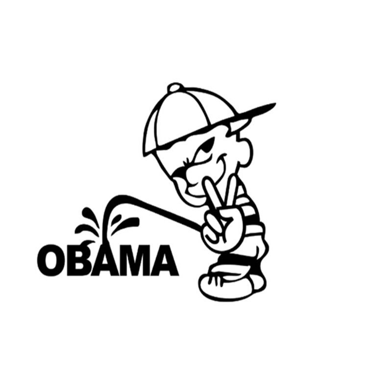 Tresa piss on oboma stickers taking