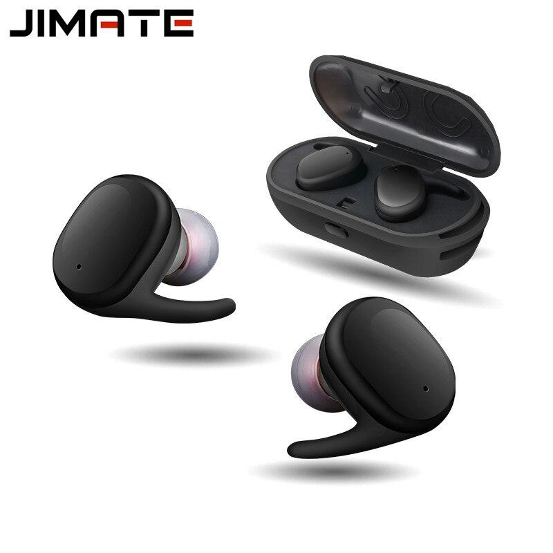 Écouteurs Bluetooth sans fil stéréo mains libres casque d'affaires anti-bruit étanche avec micro pour les Sports de bureau de conducteur