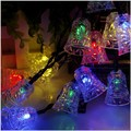 Christmas Bell Led string 5M 20LEDs Solar Powered Fairy String Lights Lamps for Christmas Holiday Party Tree Decoration Outdoor