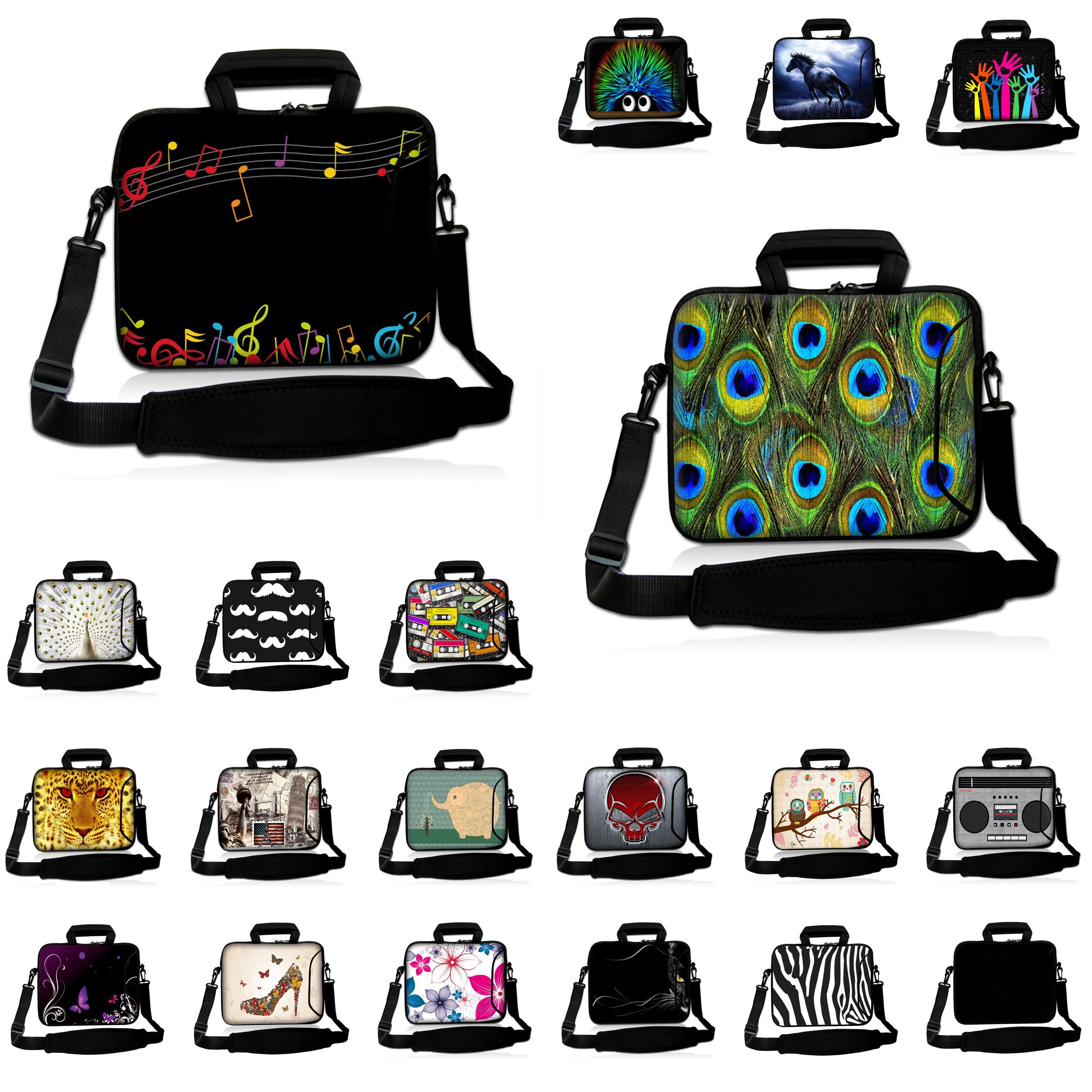 Waterproof Neoprene Briefcase Laptop Women Bag Tablet 10.1 9.7 Shoulder Bags For Huawei Chuwi Hi10 Samsung Lenovo Accessories