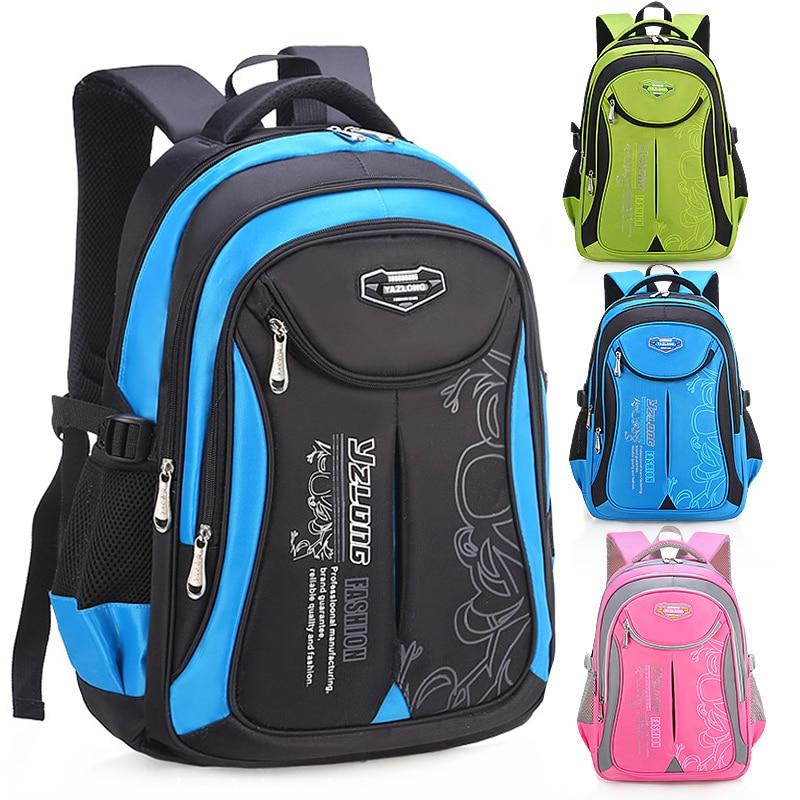 Children Large Capacity Backpacks For Primary School Bags Boys Waterproof Schoolbags Kids Safe Oxford Backpack For Girls Satchel