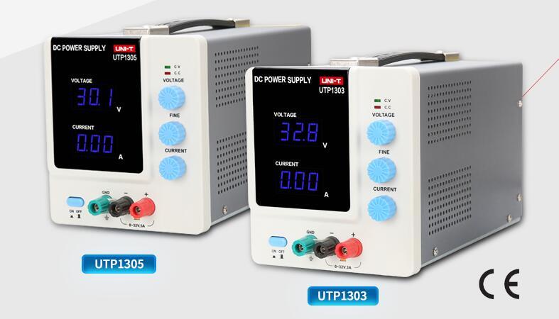 UTP1303/1305 携帯電話ノートブック電源メンテナンス 3-5A調整可能な直流安定化電源リニア