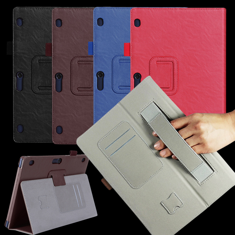 Luxury Tab2 A10 70 leather case for lenovo tab 2 a10-70 A10-70F A10-70L tablet 10.1''Flip Book Stand Hands Holder Wallet case