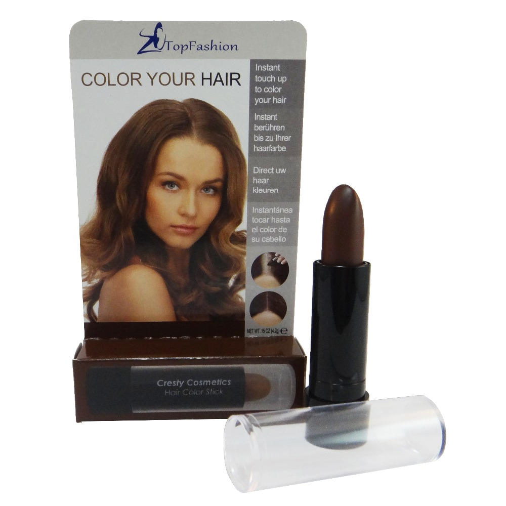 Brown Cosmetic Temporary Touch Up Stick Meet Fda Eec Regulation