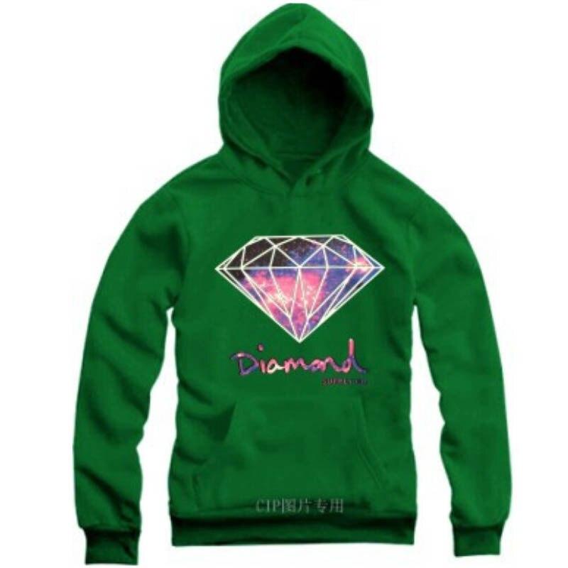 2016 New Fashion diamond print Hoodies Men and women s supreme Sweatshirts  Hooded Fleece men Long sleeved casual coats 50825003A-in Hoodies    Sweatshirts ... 44c3bcadd