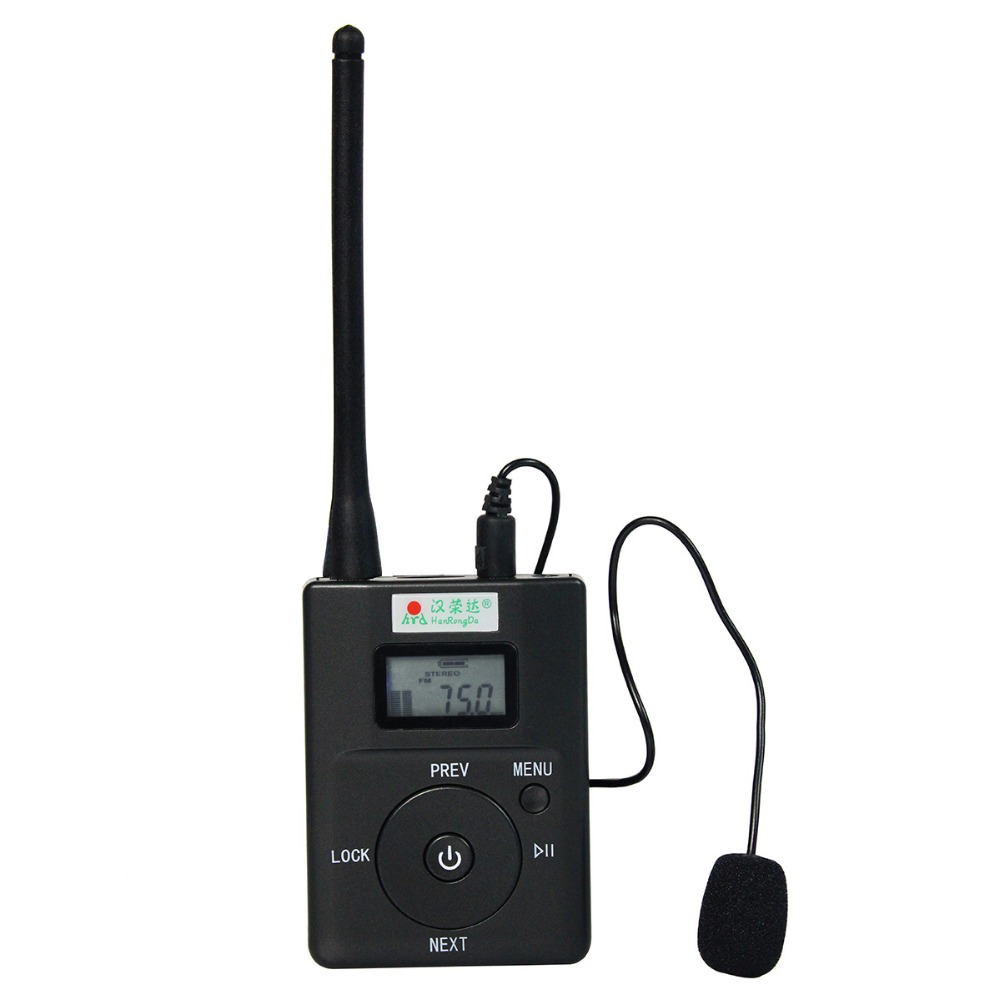 Portable 0 2W FM Transmitter Stereo Radio Broadcast Adjustable Frequency 60 108 MHz FM Transmitter FM