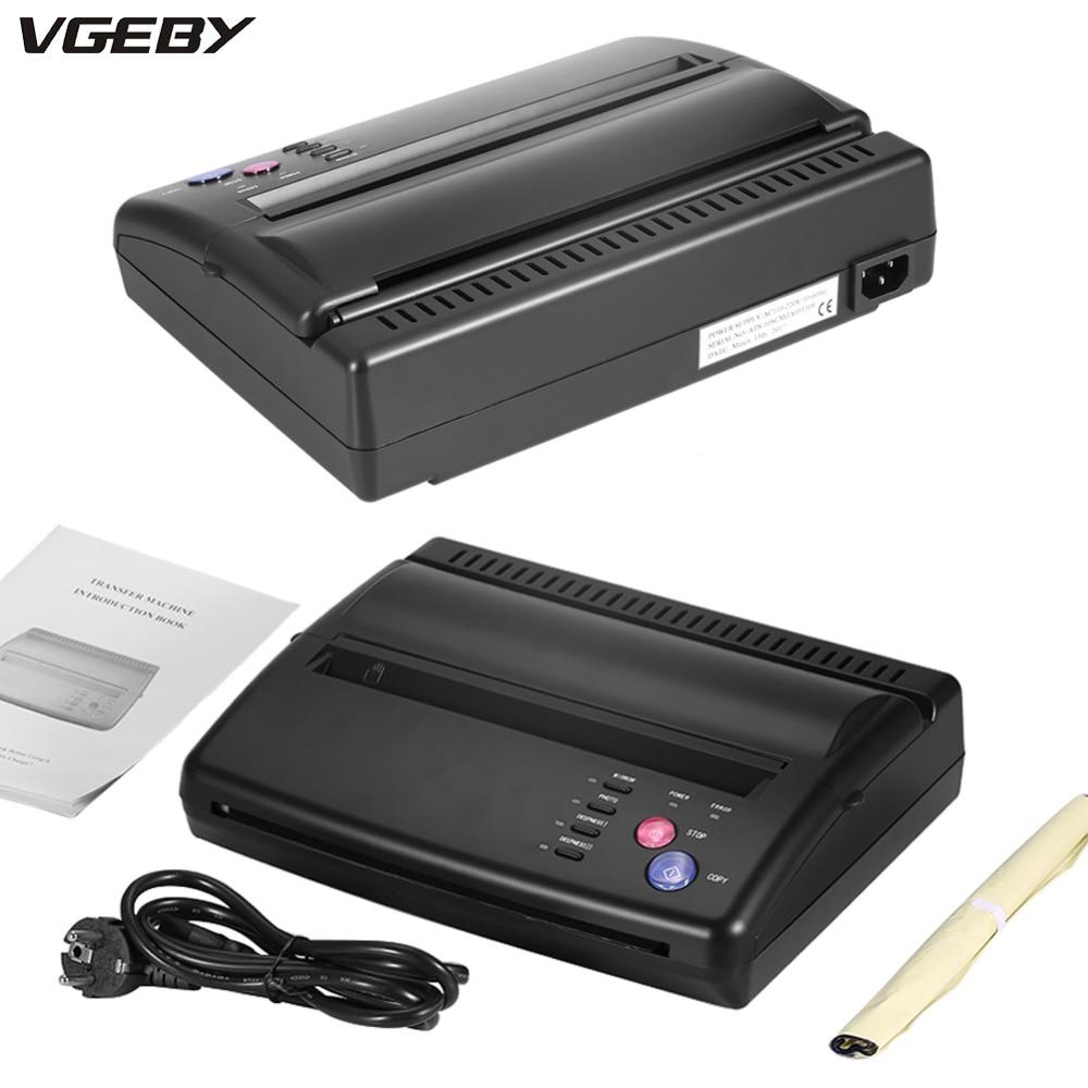 Tattoo Transfer Machine Thermal Stencil Copier Flash Printer Drawing LED Digital Tattoo Supply Body Art Stencil Transfer Machine цены