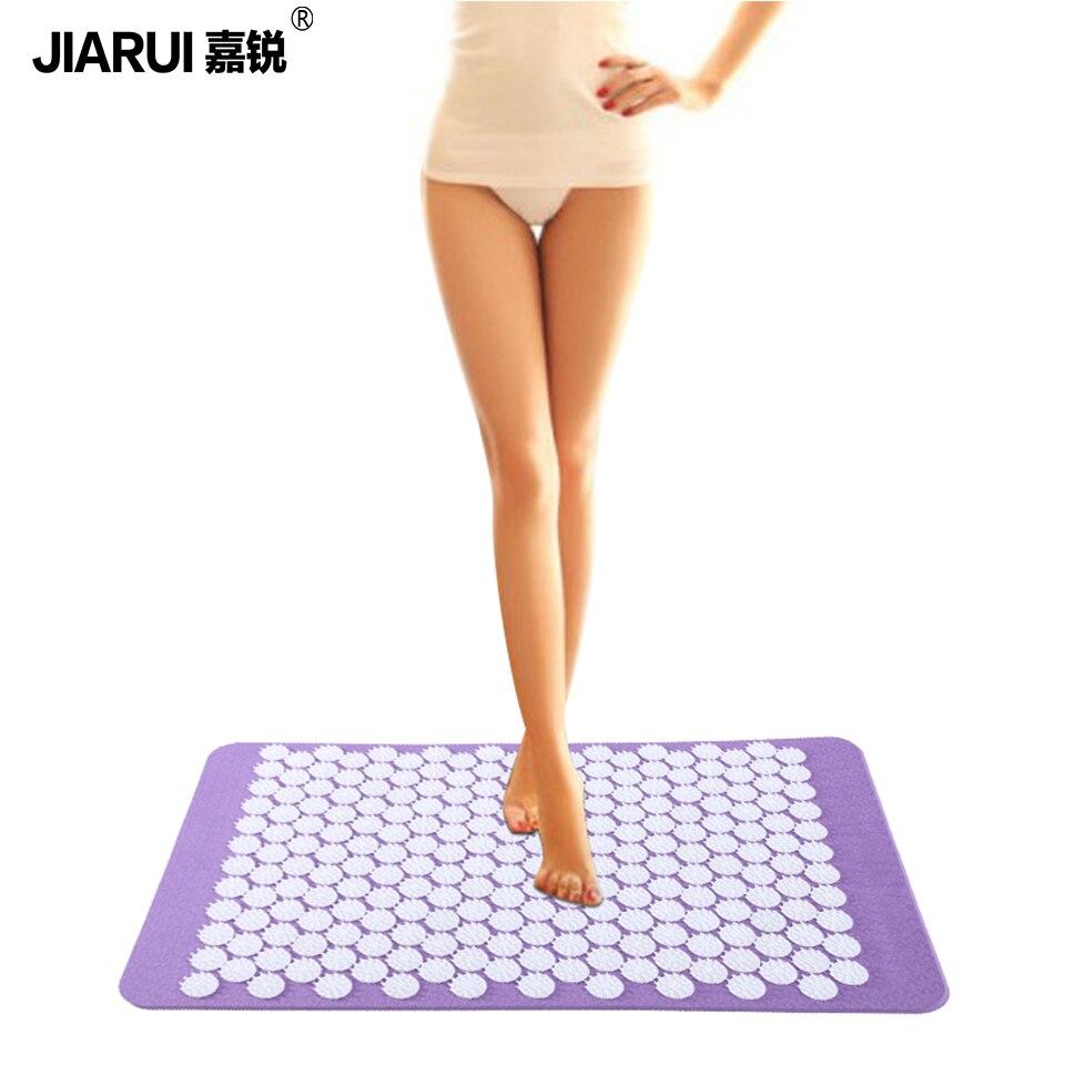 Массаж жастығы жастығы Acupressure Mat Yoga - Денсаулық сақтау - фото 1