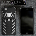 Ip6p case new cool batman metal case cover for iphone 6s iphone6 plus shockproof outdoor fahsion shell Armor Protection cases