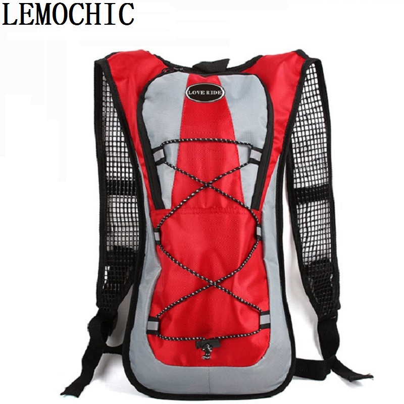 Riding mountain bike Shoulder Backpack Bag High quality men and women sports outdoor running ultra light ventilation equipment