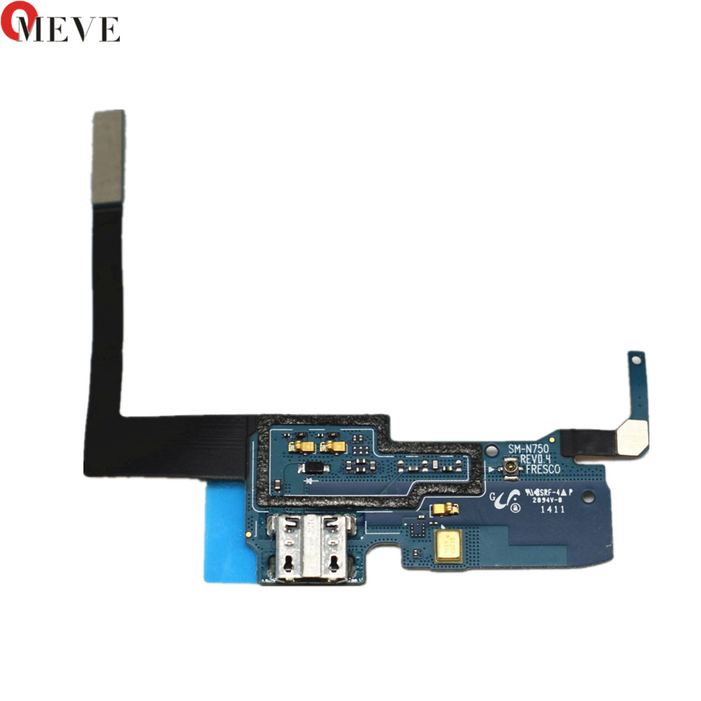 Original For Samsung Galaxy Note 3 NEO Lite N750 N7505  Micro USB Charger Charging Port Dock Connector Flex Cable