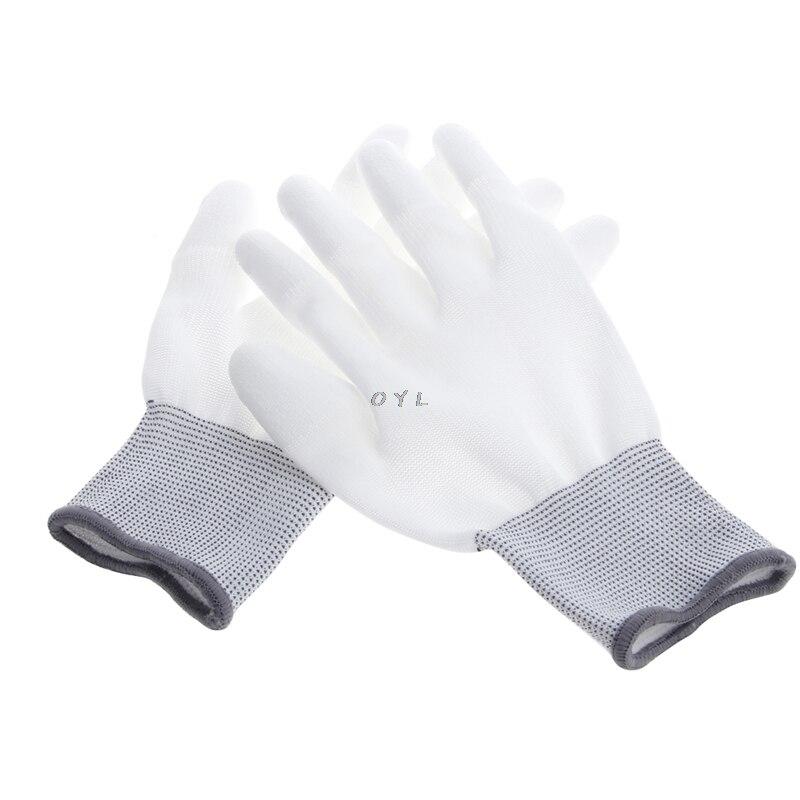 1 Paar Anti Statische Gleitschutz Handschuh Pc Computer Esd Elektronische Arbeit Reparatur Handschuhe SchöNer Auftritt
