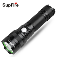 Supfire LED Flashlight L6 S Hunting USB Torch Light 26650 Linterna LED for Olight Sofirn Fenix Nitecore Hand Flash Light S026