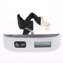 Suitcase-Bag Hanging-Scales Balance-Weight-Thermometer Lcd-Display Electronic-Luggage-Scale