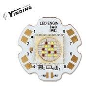 1pcs LEDEngin LZP RGBW Flat Lens 80W Hight Power LED Emitter Lamp Light Blub LED With 28MM PCB Heatsink