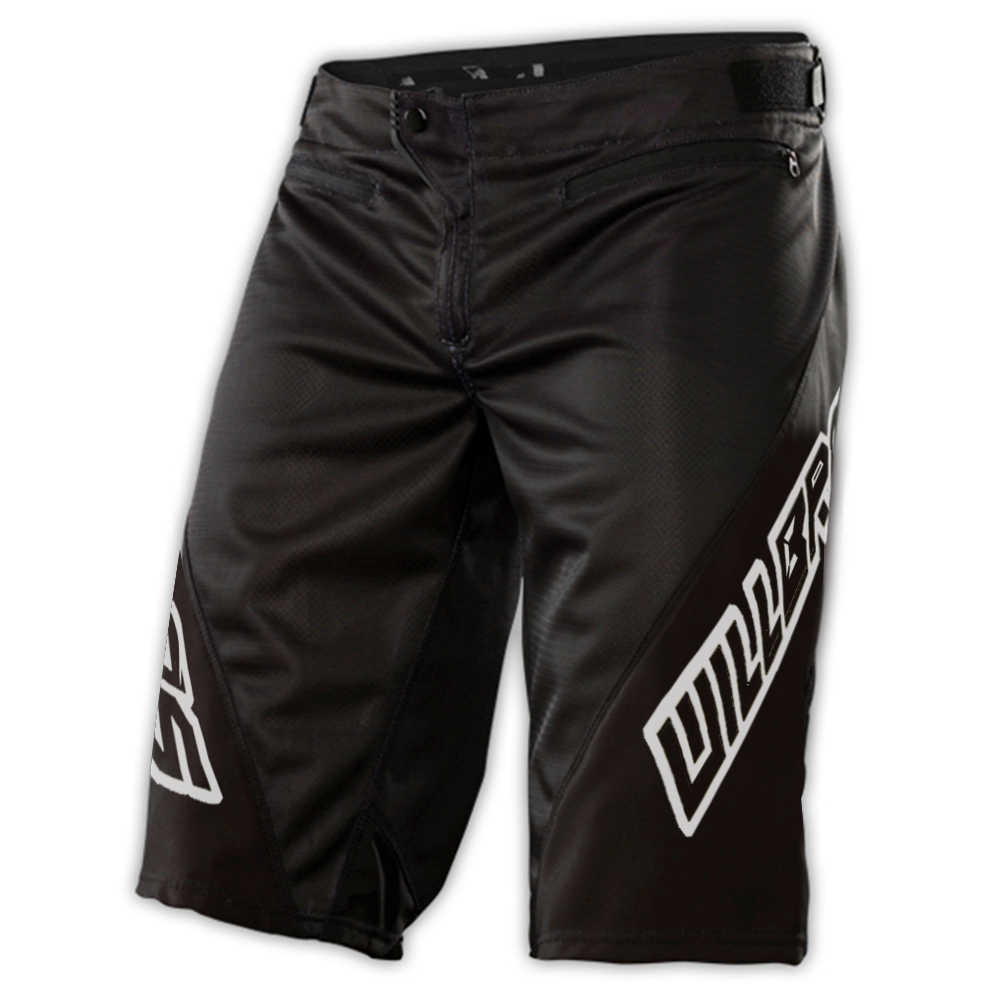WillBros Schwarz Grün Sprint Shorts DH MX MTB BMX Racing Off-Road Downhill Getriebe