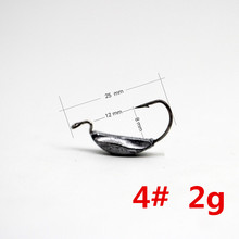 10pcs Fishing hooks 4#  6#  8# jig head fish hook crank hook for Soft Worm Bait Crankbait carp Fishing Tackle accessories Pesca