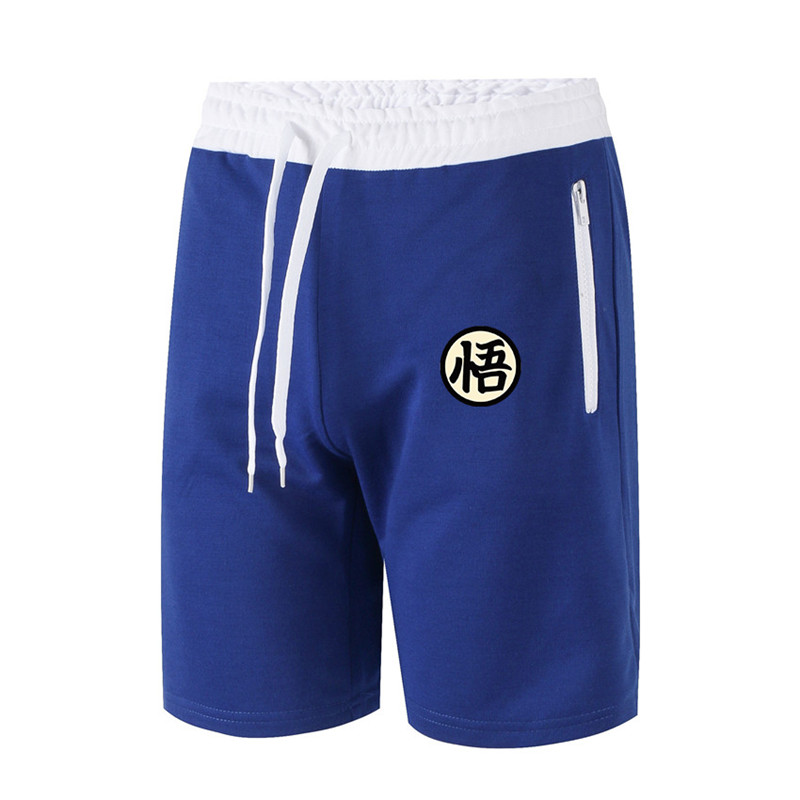 2019  Men Dragon Ball Wukong Casual Sweatpants Shorts 1/2 Trousers Short Fitness Clothing Bodybuilding Jogger Men Shorts