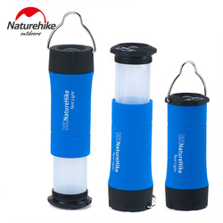 Naturehike waterproof outdoor camping tent lamp portable 100 LM LED light zoomable hiking fishing night light 3 working models