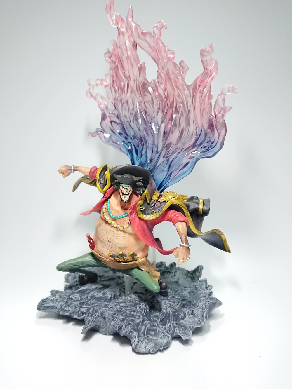 One Piece Marshall POP SIZE Figure Marshall D Teach Monkey D Luffy Portgas D Ace PVC 25 Action Figure Toy Collection Model Gift new hot 12cm one piece boa hancock monkey d luffy modelling action figure toys collection doll christmas gift with box