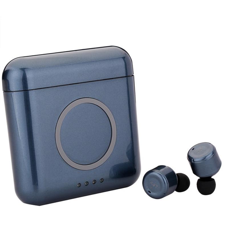 Original X4T TWS inalámbrica auricular bluetooth auricular estéreo de 5200 mAh para iphone 8 xiaomi airdots meizu pop EP52 huawei freebuds
