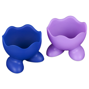 Silicone Eggcup Egg Holder Cup Boiler Egg Poacher  1
