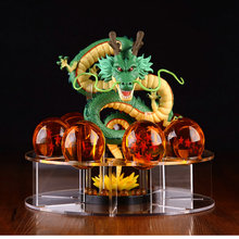 Dragon Ball Z Action Figures Shenron Dragonball Set Esferas Del Dragon+7pcs Balls+Shelf Figuras DBZ