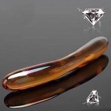 Glass dildo plug bullet anal sex toys for man women G SPOT Crystal anal DILDO lesbian Stimulating anus BUTT toys SHoP