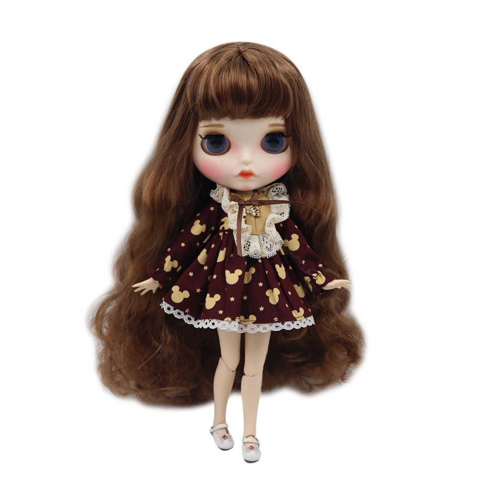 ICY factory muñeca Blythe desnuda Cuerpo Conjunto de mano A & B nueva placa frontal mate piel blanca moda muñecas regalo OFERTA ESPECIAL