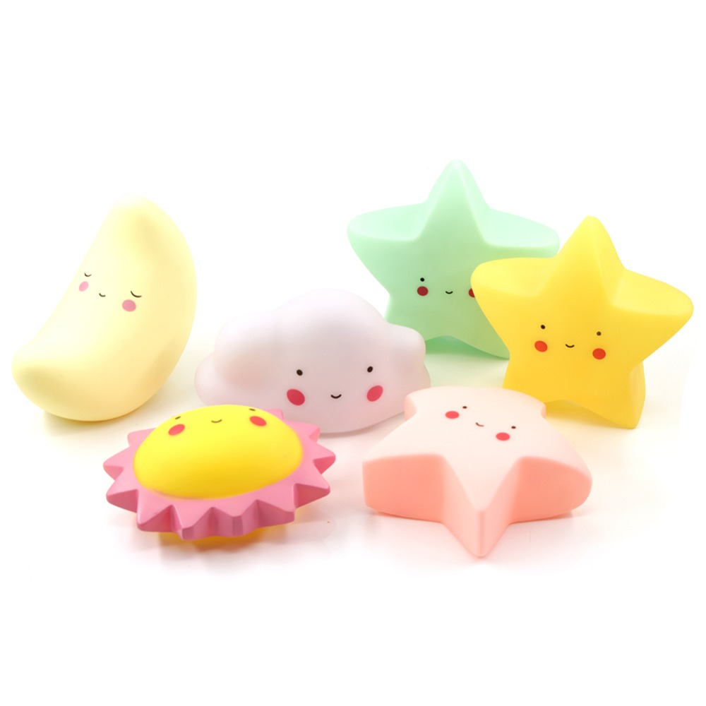 Novelty Decorative Childrens Toys Moon Light Table Star Portable Baby Lights Child Children Star Sun Moon Toys