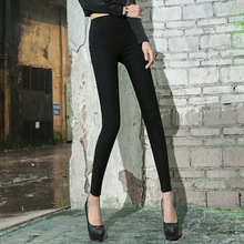 2016New arrival Autumn Solid Color Broadside overhip Exceed Elastic Comfortable Underpant  Woman Leggings 8802