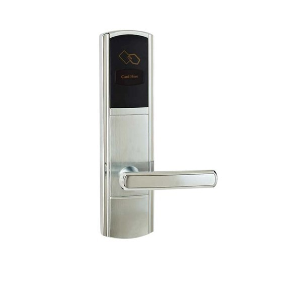 hotel lock system, RFID T5577 hotel lock system,gold or silver color ,sn:CA-8038 rfid t5577 hotel lock stainless steel material gold silver color a test t5577 card sn ca 8006