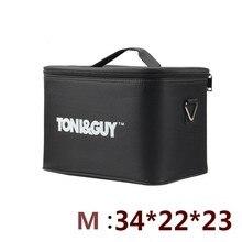전문 다기능 2 레이어 미용 키트 가방 대용량 도구 케이스 두꺼운 방수 가위 가방