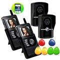 Бесплатная Доставка 7 дюймов Беспроводной WI-FI Видео Дверной Звонок HD Видео-Дверной Звонок с Дальний Беспроводная Система Мониторинга