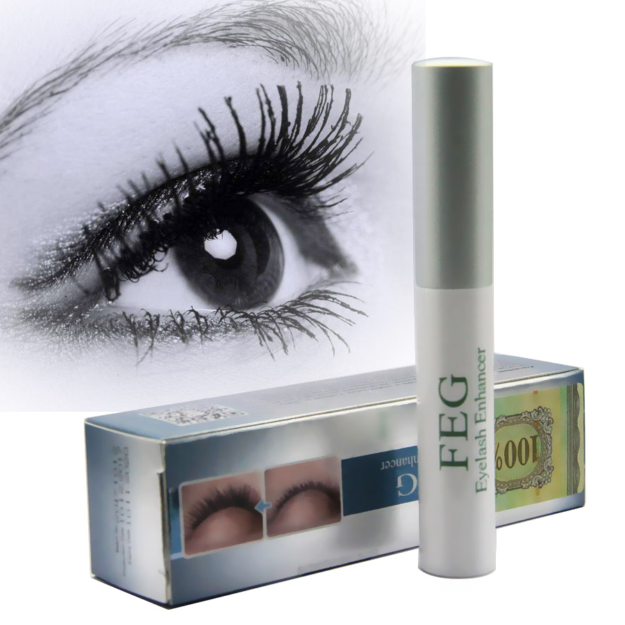 c7ddd6deaab FOONBE 100% Natural Liquid Serum Means for the Growth of Eyelashes Magic  Powerful Treatments Maquillage