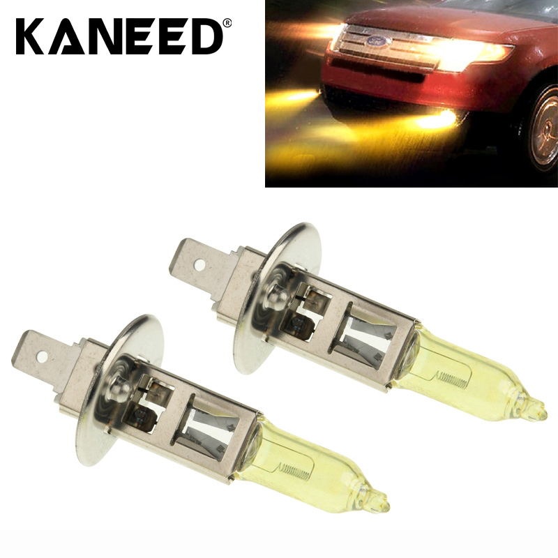 Free Shipping 2017 High Quality HOD H1 Xenon Bulb Car Headlight Bulb 12V 100W 3500K Yellow Light Headlights quality guarantee yellow matte vinyl wrap film foil car sticker with air bubble free fedex free shipping size 1 52 30m roll