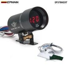 37 мм дымовая температура выхлопных газов EGT датчик красный цифровой светильник переключения стиль метр Pod красный светодиодный черный для BMW e3 EP37BKEXT