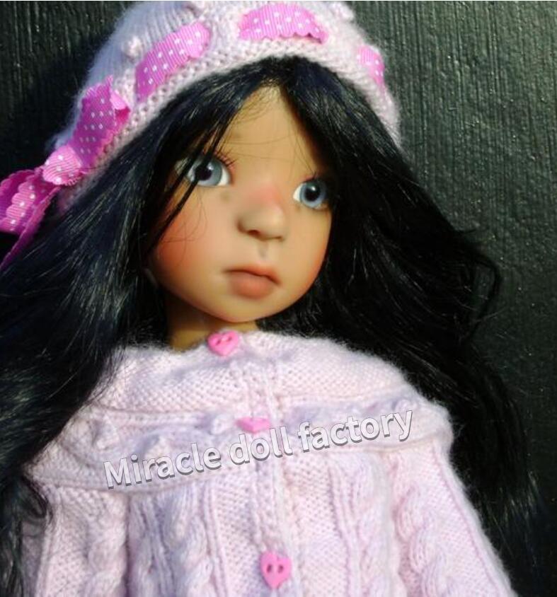 New shelves 1 6 BJD kaye wiggs cinnamon fashio LOVELY doll for baby girl birthday gift