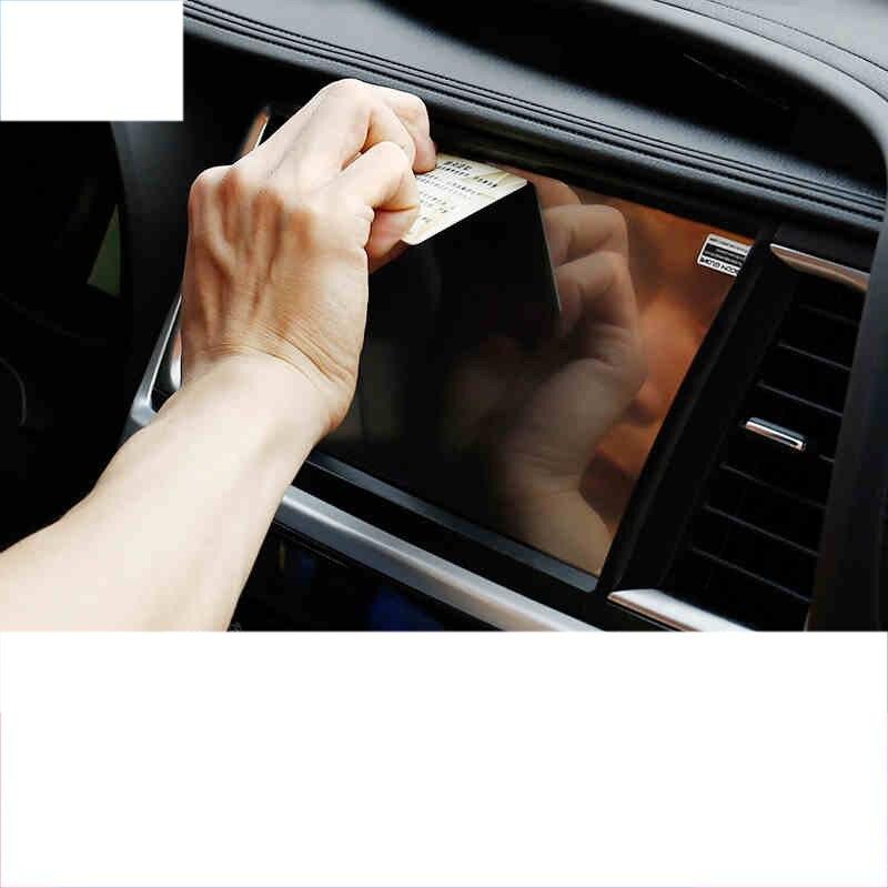 lsrtw2017 car dashboardGPS Navigation screen anti-scratch Tempered film for toyota highlander 2014 2015 2016 2017 2018 2008-2019