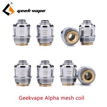 E Cigarette Vape Coil Geekvape GC-39 Mesh Coils for Geekvape Alpha Tank Single/Dual mesh Coil Replaceable Vaporizer accessories