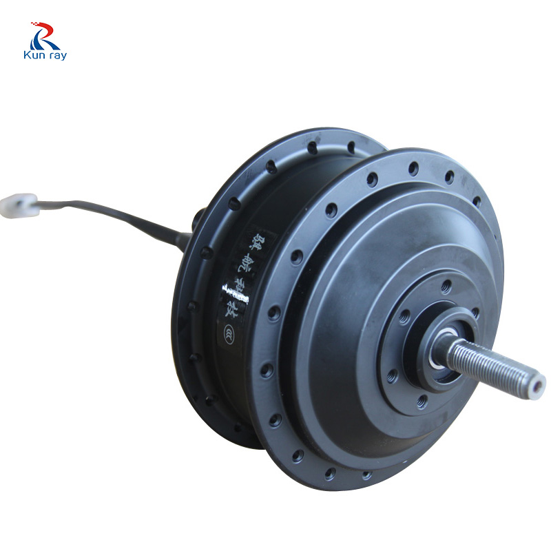 Generator bicycle drive wheel motor 250W 24V 36V 48V High Speed Brushless Gear Hub Motor Scooter Motor E bike Rear Wheel Motor цена
