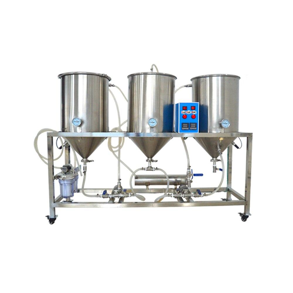 Semi-automatique Machine à Bière Artisanale Bière Kit 50L Homebrew Bière Brassage Brasserie Bière Tireuse À Bière Pour Le Brew À La Maison