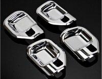 For jeep compass 2011 2012 2013 2014 2015 Car interior trim inner door handle bowl frame cover trim 4pcs
