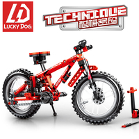 LegoINGly Bicycle Building Block set Finger Bicycle Toys for Children Technic models to build adults