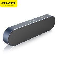 DRXENN Awei Y220 Bluetooth Portable Wireless Speaker Dual-Driver Kalonki Sound Box For Phones 3D Stereo Support TF USB