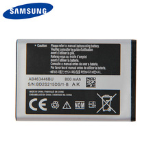 Original Samsung High Quality AB463446BU Battery For C3300K X208 B309 F299 SCH-E339 E2330 E1190 GT-C3520 800mAh