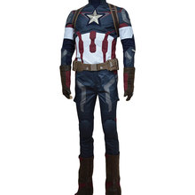 COSMORE Avengers Age of Ultron Captain America Steve Rogers Costume Uniform Men